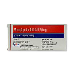 6-MP 50mg Tablet Price