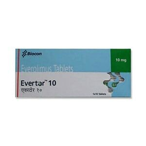 Evertor 10mg Tablets Price