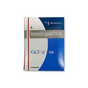Glioz 100mg Capsule Price
