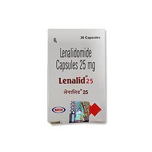 Lenalid 25mg Capsule Price