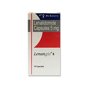 Lenangio 5mg Capsules Price
