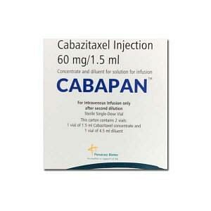 Cabapan 60mg Injection Price