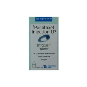 Intaxel 100mg Injection Price