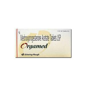 Orgamed 10 mg Tablets Price