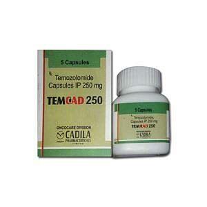 TemCad 250mg Capsules Price