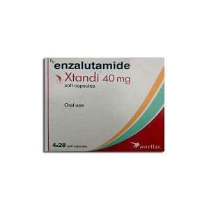 Xtandi 40 mg Capsules Price