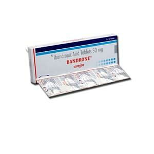 Bandrone 50mg Tablets Price
