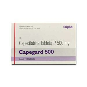 Capegard 500 mg Tablets Price