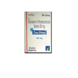 DaciHep 60mg Tablets Price