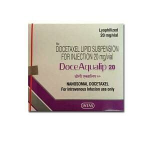 DoceAqualip 20mg Injection Price