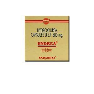 HYDREA 500mg Capsules Price