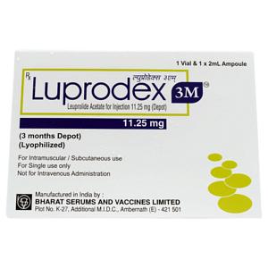 Luprodex 11.25mg Injection Price