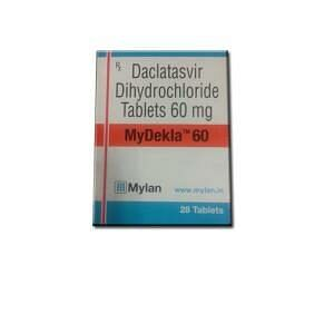 MyDekla 60 mg Tablets Price