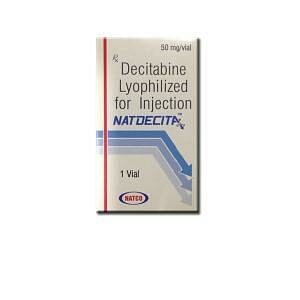 Natdecita 50 mg Injection Price