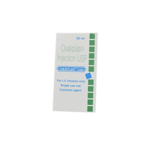 Oxiplat 100mg Injection Price