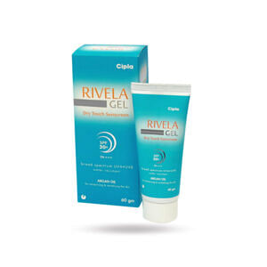 Rivela Dry Touch Sunscreen SPF 30 Gel Price