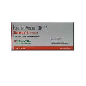 Shanvac-B Vaccine 20mcg Price