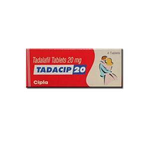 Tadacip 20mg Tablets Price