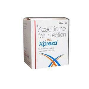 Xpreza 100 mg Injection Price