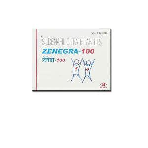 Zenegra 100 Mg Tablets Price