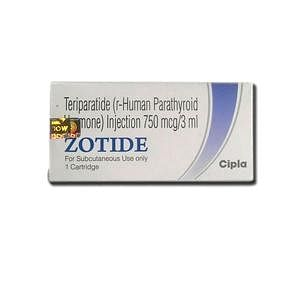 Zotide 750mcg Injection Price
