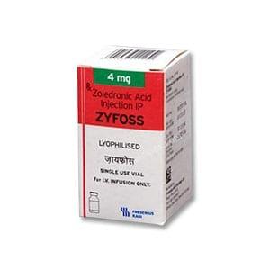 Zyfoss 4mg Injection Price