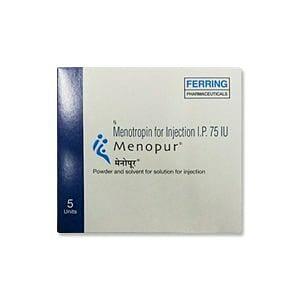 Menopur 75 I.U. Injection Price