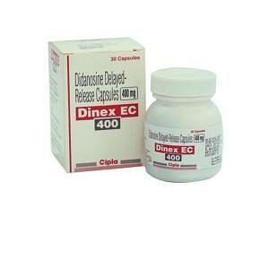 Dinex EC 400 mg Capsules Price