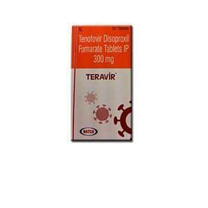 Teravir 300mg Tablets Price